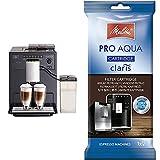 Melitta Caffeo Ci E970-103, Cafetera Molinillo, Café Molido y en Grano + Pro Aqua Cartucho de Filtro Descalcificador,...