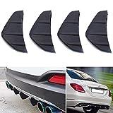 Mayyou - Spoiler per paraurti posteriore auto, con alette di squalo, per proteggere la copertura anti-incidente