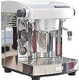 XHCP Kaffeemaschine Halbautomatische Kaffeemaschine Hochdruck-Dampfschaumilch-Edelstahlmaschine...