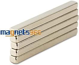 Gomukhi Market OMO Magnetics 5pcs N50 Strong Strip Magnets Block Cuboid 50mm x 5 GMA4489