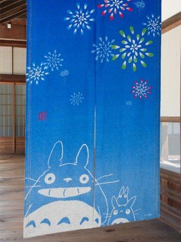Cosmos Noren (cortina japonesa) Studio Ghibuli mi vecino totoro verano ver. de Japón 10–034
