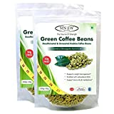 Sinew Nutrition Green Coffee Beans for Weight Management - 400 g + 100 g Free (250 g x 2 Piece), Green Coffee