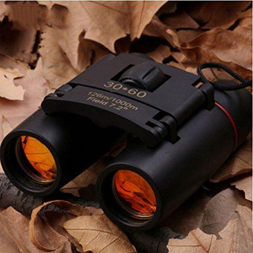 SXLIGHT Fernglas 30X60 Hd Tragbare Nachtsicht Fernglas Reise Sightseeing,Schwarz