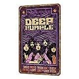 Rose Flight Deep Purple Buddy Miles Vintage Metall Zinn