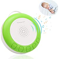 Trcviove UTT Baby Sleep Soother Sound Machine, Portable Shusher with Auto-Off Timer and Volume Control, for Newborns and Up (Green)