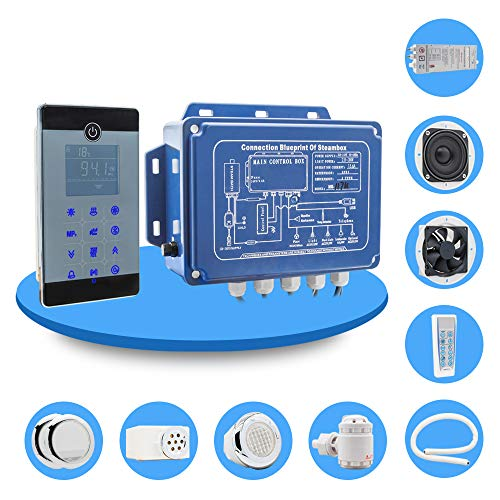 MICHEN IPX5 Impermeabile fissato al Muro Stile Bluetooth Bagno di Vapore Sauna Spa Bagno generatore 2.8kw 110 v / 240 v con Doccia Controller