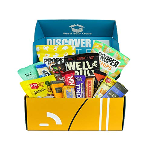 Gluten Free Chocolate and Snacks Hamper Gift Box   Healthy Snacks, Sweets, Chocolates, Crisps & More! The Ultimate Gluten Free Selections Box Beautifully Hand Packaged in The UK