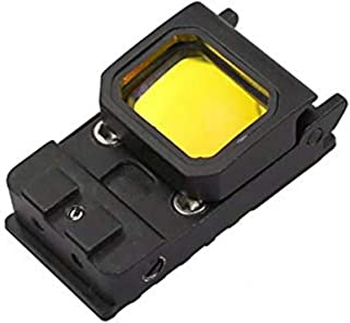 Flip Red Dot Sight RMR Holographic Reflex Sight for Shooting Hunting for Glock or 20mm Picatinny (Black)