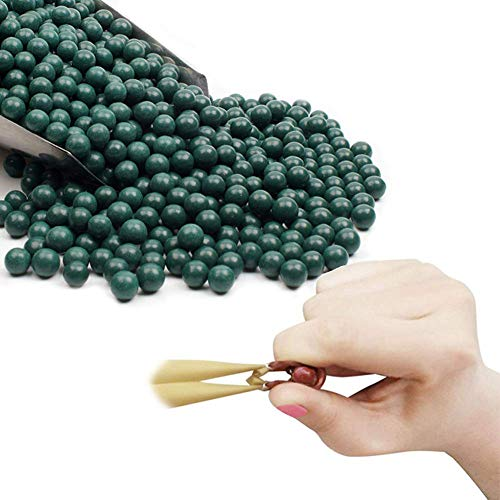 Tirachinas Bolas Catapulta Municion, 10mm Arcilla Bolas Barro de Lodo para Profesional Tiro al Blanco de Caza, Regalos para Fanáticos de la Slingshot
