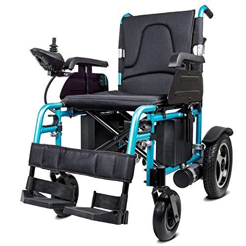 Sedia a rotelle Leggera Pieghevole elettrica Portatile elettrica Portatile Scooter Elettrico Schienale Pieghevole Solo Peso 35 kg