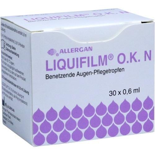 LIQUIFILM O.K. N Augentropfen 30X0.6 ml