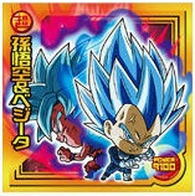 ドラゴンボール 超戦士シールウエハースZ W9-01 孫悟空&ベジータ SR