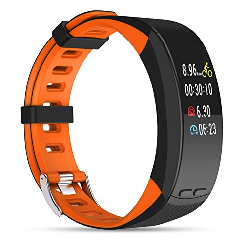 Review Of Fitness Tracker,Smart Bracelet GPS Sport Activity Tracker Colorful Screen Bluetooth Pedome...