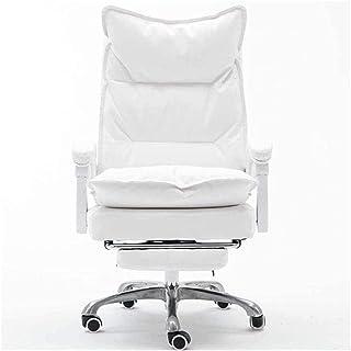 MHIBAX Gaming Chair Chaise de bureau Chaise de bureau d'ordinateur pivotante Chaise de bureau ergonomique en cuir PU soupl...