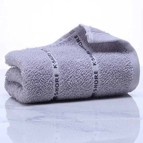 CMZ Toallas de algodón Puro, Textiles para el hogar, absorbentes de algodón, Toallas para Parejas, Toallas para el hogar para el Lavado de Cara de Adultos (34x70 cm)