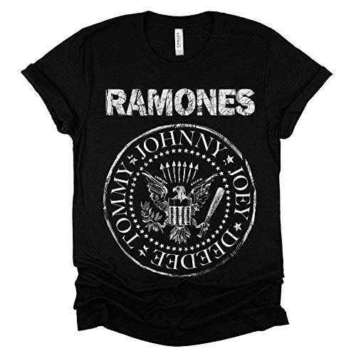 Ramones punk rock band t-shirt 1974 Unisex T-shirt