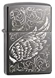 """Genuine Zippo windproof lighter with distinctive Zippo """"click"""" All metal construction; windproof design works virtually anywhere Refillable for a lifetime of use; for optimum performance, we recommend genuine Zippo premium fluid, flints, and wicks Ma..."""