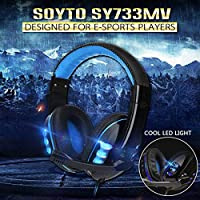 3.5mm Wired Gaming Headset Deep Bass Game Earphone Professional Computer Gamer Headphone With HD Microphone for Computer