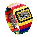 BXzhiri Unisex Colorful Digital Wrist Watch for Boys Girls Men Women