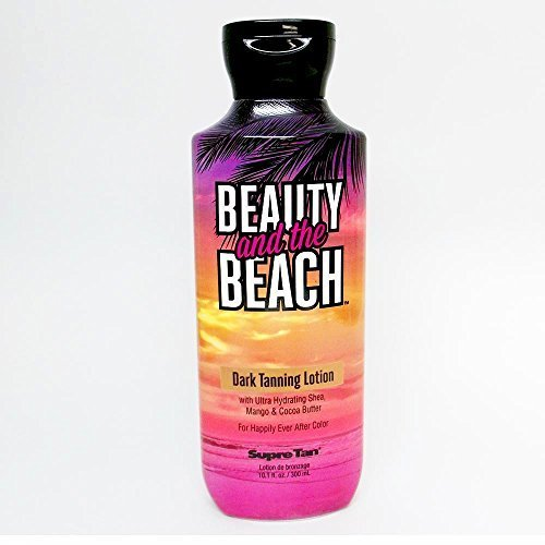 Beauty and the Beach Dark Tanning Lotion Supre Tan 10.1 Ounce by Supre Tan