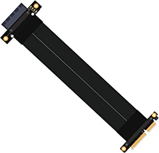 SUPERPLUS  PCI-e PCI Express 3.0 4X Extension Cable with Gold-Plated Connector pcie Riser