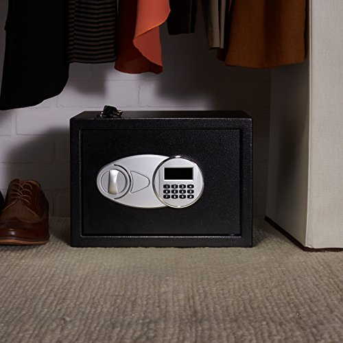 AmazonBasics Security Safe Box, 0.5 Cubic Feet