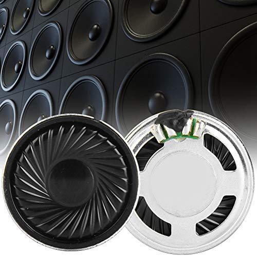 【2021 Promoción de año Nuevo】Altavoz 8Ω 8ohm 30mm, Piezas de reparación Bocina 30mm, 0.5W para Radio de Equipo Audiovisual para el hogar