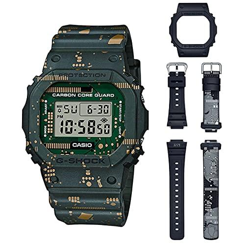 Casio Orologio Digitale Quarzo Uomini con Cinturino in plastica DWE-5600CC-3ER