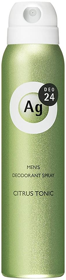 医師ストラップ塗抹エージーデオ24 メンズデオドラントスプレー シトラストニックの香り 100g (医薬部外品)