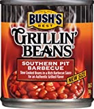 Bush's Best Grillin' Beans, Southern Pit Barbecue Baked Beans, 8.6 Oz (Pack-12)