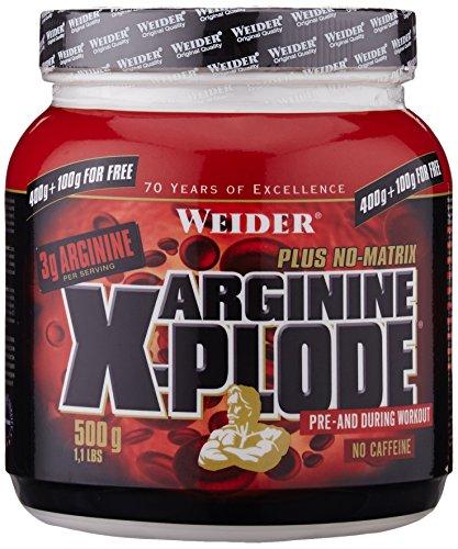 Weider, Arginine X-Plode, Exotische Früchte, 1er Pack (1x 500g)