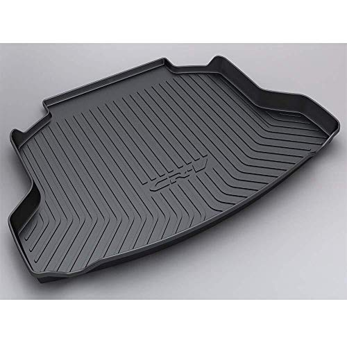 Vehículo de línea de carga trasera, Tronco bandeja de suelo Hoja de alfombra de la estera bandeja equipaje pesado impermeable Mat arranque for Honda CRV 2018 2019 (Size : Honda CRV 2007-2011)