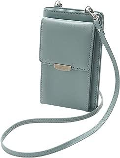 feelingood All in One Design Crossbody,Multi Function Cellphone Wallet Purse Phone Pouch Wristlet Clutch Crossbody Shoulder Bag
