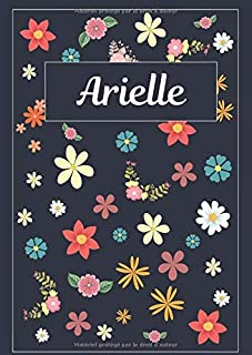 Arielle: Agenda Personnalisé   Journal   120 pages   A4   Blanc   Idées Cadeaux