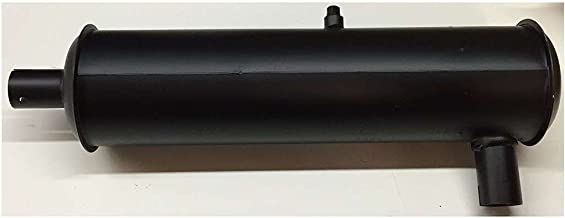 Generac 052108 OEM RV Generator Exhaust Muffler - Side Outlet/Inlet - Replacement Part - 5 Pounds