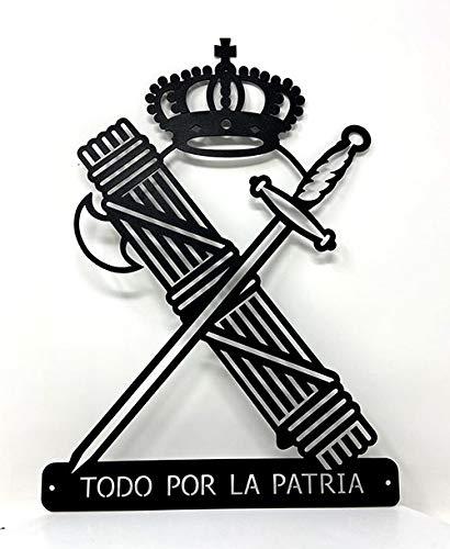 FORJASPORT Silueta DE Pared Escudo Guardia Civil