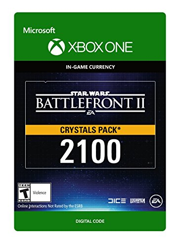 Star Wars Battlefront II 2100 Crystals - Xbox One [Digital Code]