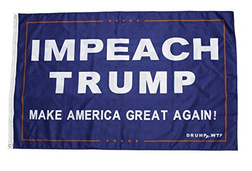 Drumpf.WTF Impeach Trump, Make America Great Again! Anti-Trump, Pro-America 3' x 5' Resistance Flag
