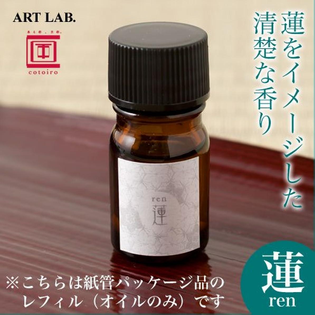 完全に乾く実験的会議ART LAB cotoiro香油蓮 renレフィル