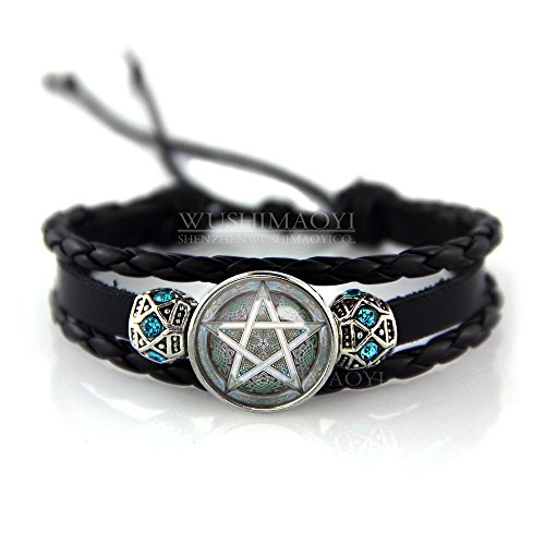 WUSHIMAOYI Wisdom of The Pentagram Bracelet Wisdom of The Pentagram Jewelry Wisdom Jewelry Magic Sign Jewelry Magic Sign Bracelet Pentagram Sign Jewelry Gift