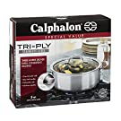 Calphalon Tri-Ply Stainless Steel Cookware, Dutch Oven, 5-quart #2