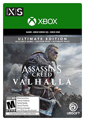Assassin's Creed Valhalla Xbox Series X|S - Pre-load, Xbox One Ultimate Edition [Digital Code]