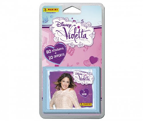 Panini - 80 Stickers + 10 Offerts Violetta saison 2