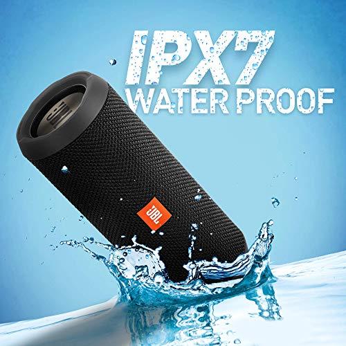JBL Flip 3 Stealth Waterproof Portable Bluetooth Speakers
