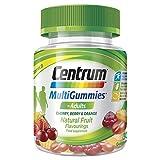 Centrum Multivitamin & Mineral MultiGummies, Cherry, Berry & Orange Natural Fruit Flavouring, Includes Essential Vitamins D, B12 & C, 30 Chewable Gummies