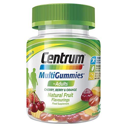 Centrum MultiGummies for Adults Cherry Berry & Orange (30 Gummies)