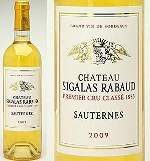 [2009]シャトー・シガラ・ラボー 750ml(ソ-テルヌ第1級)白ワイン【コク極甘口】((AJSR01A9))