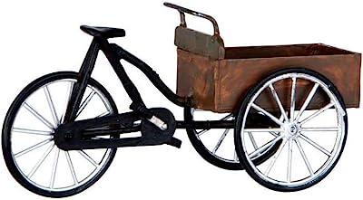 Lemax Village Collection Street Vendor's Carry Bike Figurine Accessory (64068)