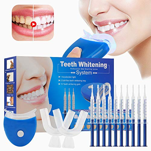 Kit de blanchiment des dents, Home Blanchiment des dents Gel Care avec kit de blanchiment...