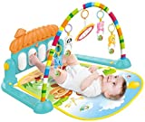 Galaxy Hi-Tech® Latest Baby's Piano Gym Kick and Play Multi-Function ABS High Grade
